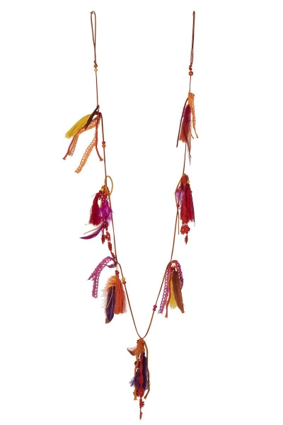FEATHER GARLAND- Girlande Boho Federn
