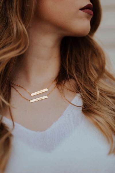 FOREVER – Halskette in Gold