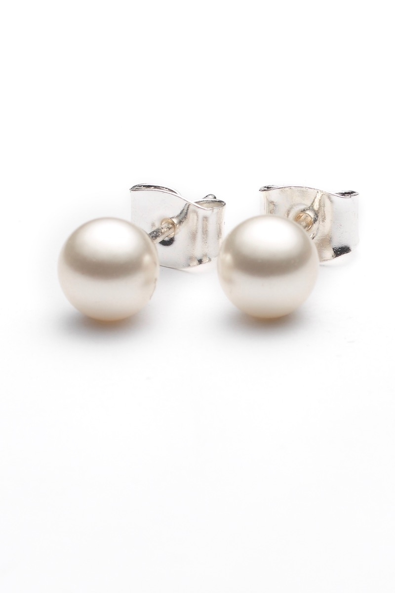 SIMPLE PEARLS  - schlichte Ohrringe mit Perlen