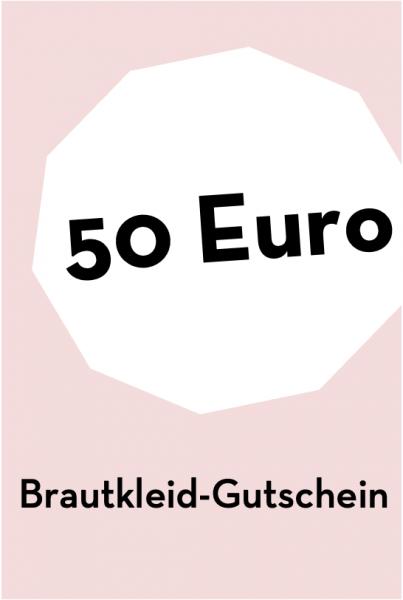 Brautkleid-Gutschein 50 €