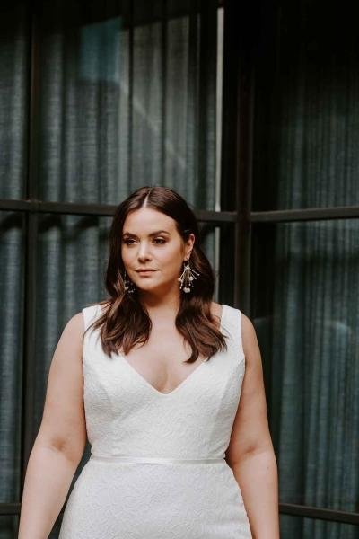 VALENCIA CURVE– Brautkleid
