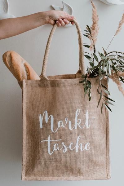 MARKTTASCHE – Jute Shopper