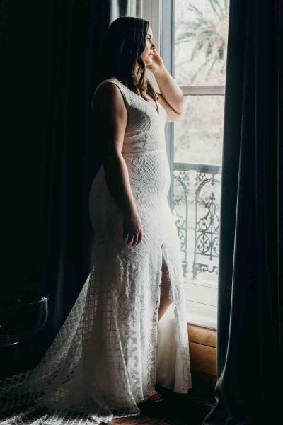 BOBBY CURVE – Brautkleid