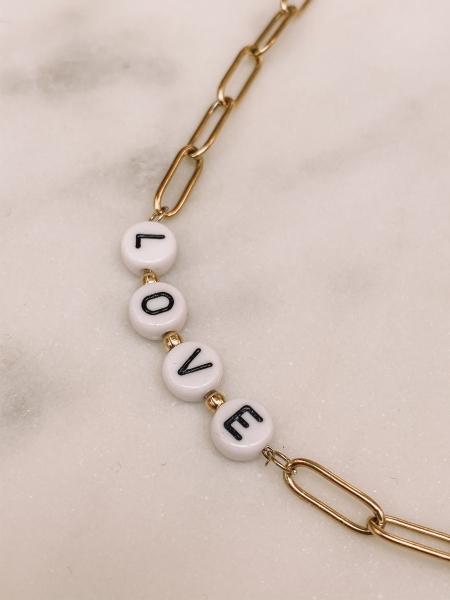"""Kette Bride Tribe, """"Love""""- Chain"""