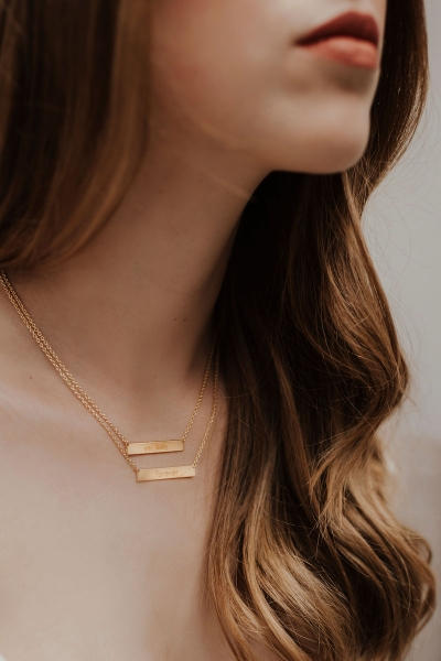 YES, BABY– Halskette in Gold