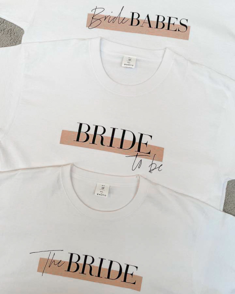 T-Shirt The Bride JGA