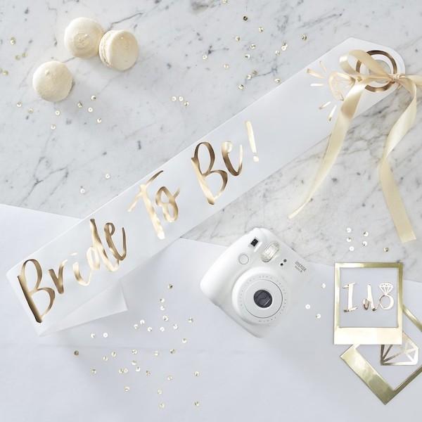 BRIDE TO BE – Schärpe
