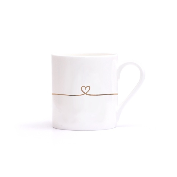 I LOVE YOU – Porzellan Tasse