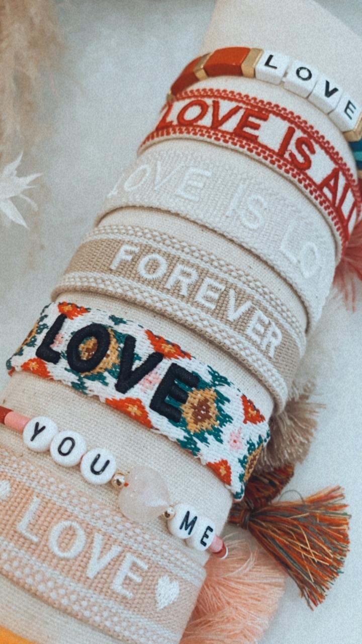 "Armband Bride Tribe, ""you & me"" - Bracelet"