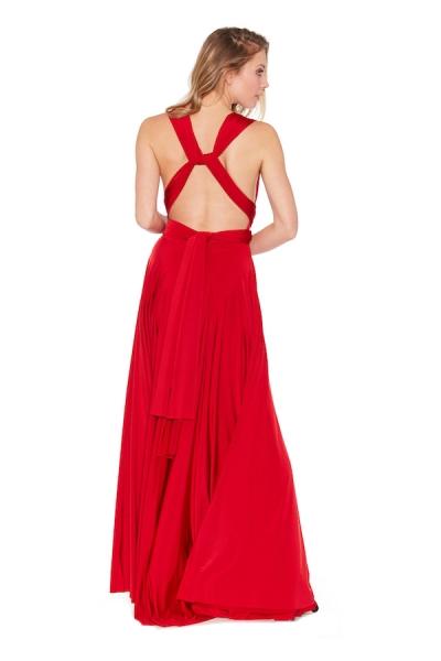 RED – Classic Wickelkleid