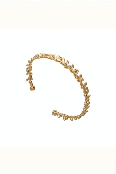 LILY AND ROSE Armreif 'AUDREY' in Crystal Gold