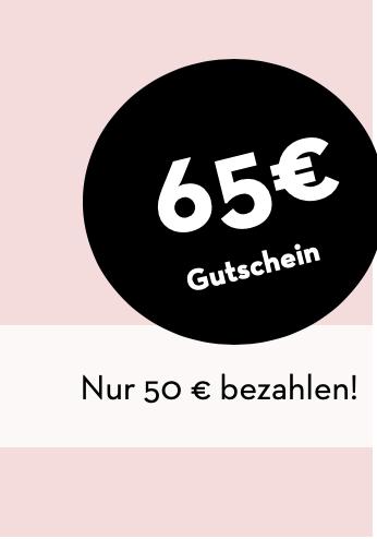 STAY HOME Gutschein 65 € für 50 €