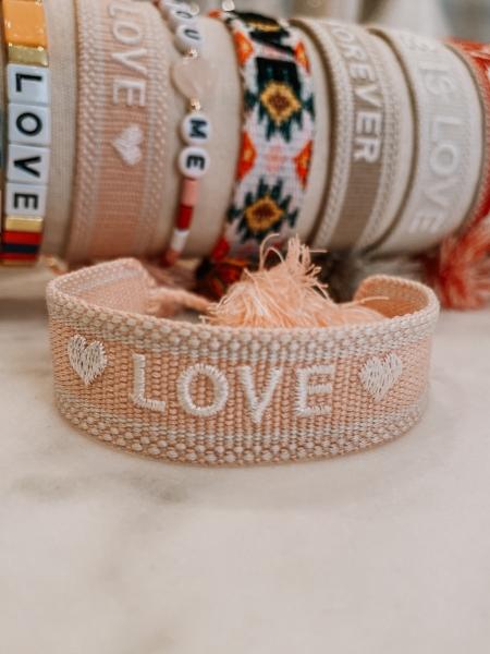 "Armband Bride Tribe, ""♥ LOVE ♥"" - Bracelet"