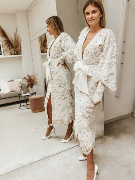 Annika Maria Wedding Dress I Paloma kurz I Brautkleid