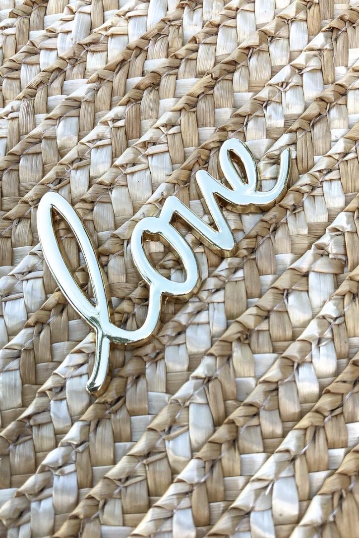 LOVE – Strandtasche