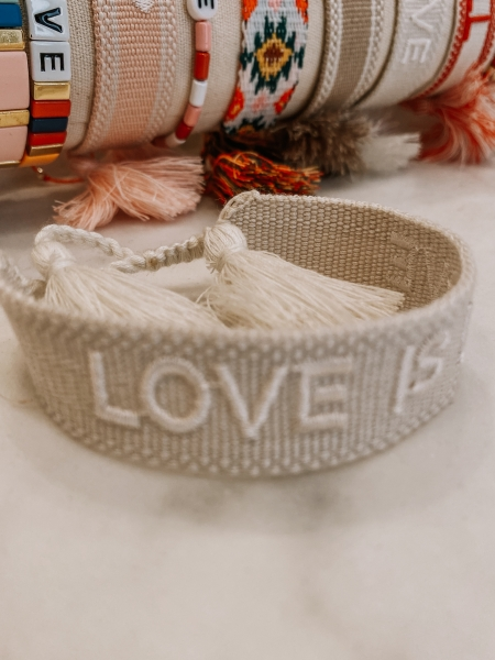 "Armband Bride Tribe, ""LOVE IS LOVE"" - Bracelet"