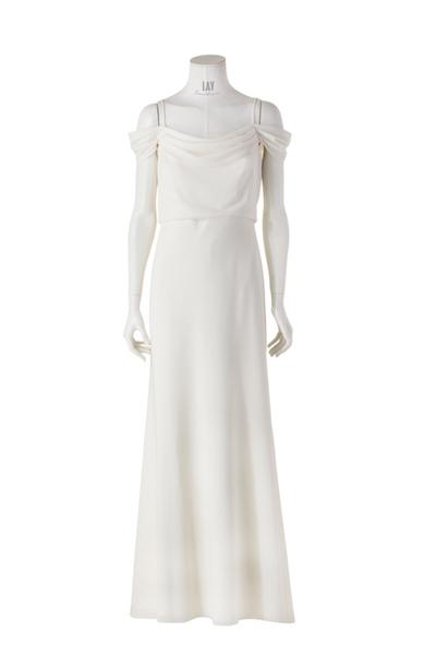 JENNY YOO Abendkleid 'SABINE' in Ivory