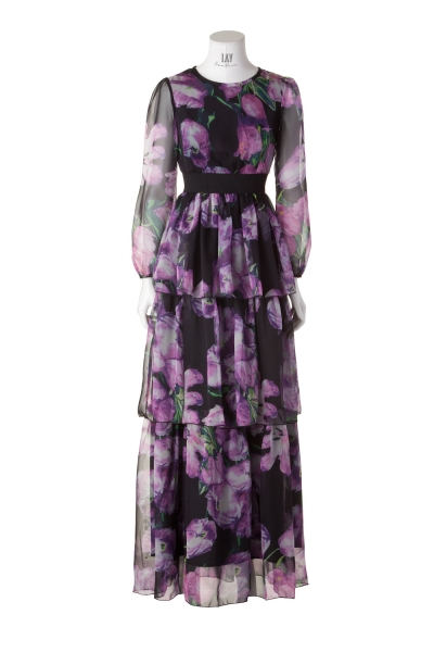 WILLOW – florales Maxi-Kleid