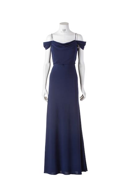 JENNY YOO Abendkleid 'SABINE' in Navy
