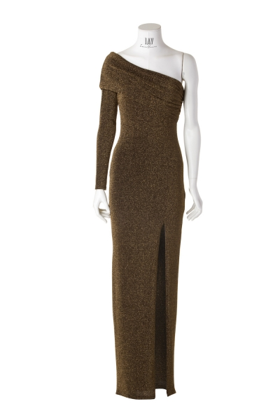 HARLOW – One-Shoulder Maxi-Kleid
