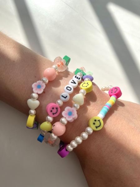 "Armband Bride Tribe, ""LOVE SMILIE"" - Bracelet"