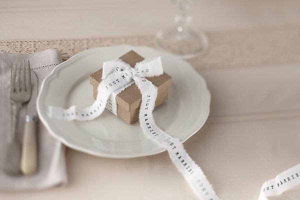 JUST MARRIED – Schleifenband