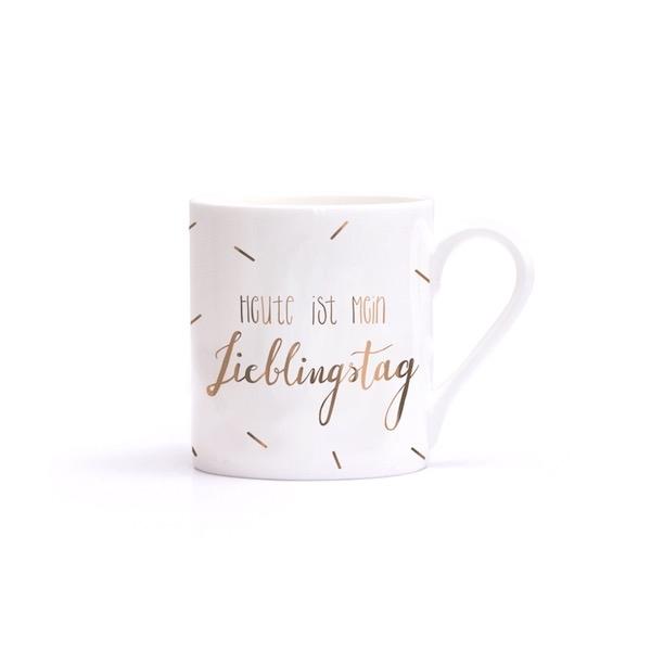 LIEBLINGSTAG – Porzellantasse