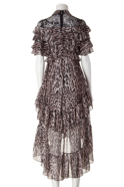 KALA – Midi-Kleid im Leo-Print