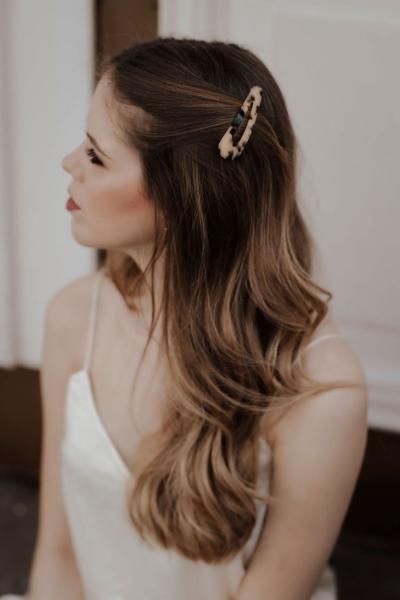 IDA – Haarspange Beige