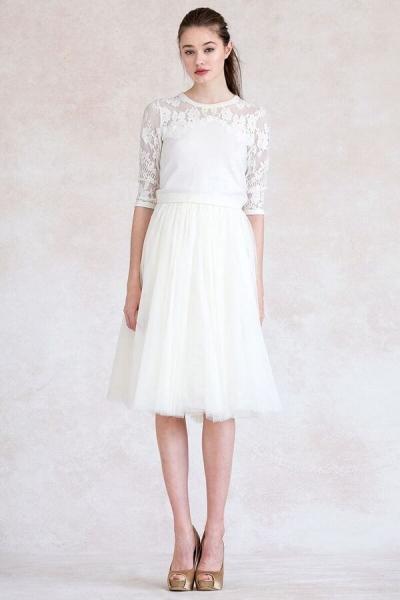 JENNY YOO Pullover 'AIMEE' in Ivory