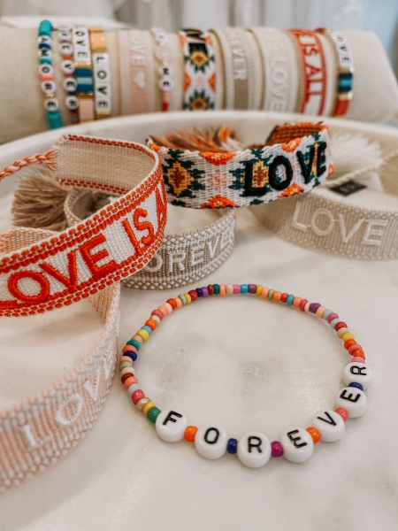 "Armband Bride Tribe, ""LOVE IS ALL"" - Bracelet"