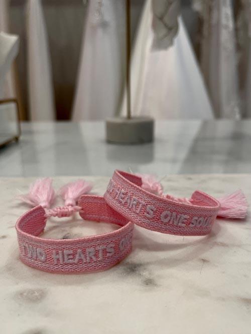 "Armband Bride Tribe, ""TWO HEARTS ONE SOUL"" - Bracelet"