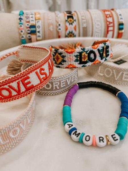 "Armband Bride Tribe, "" AMORE"" - Bracelet"