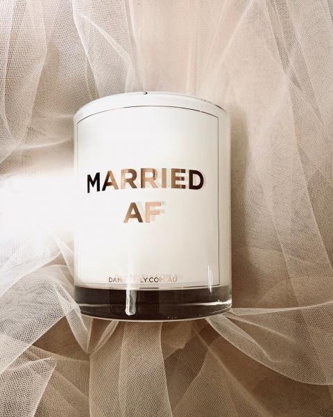 """Duftkerze """"Married AF"""""""
